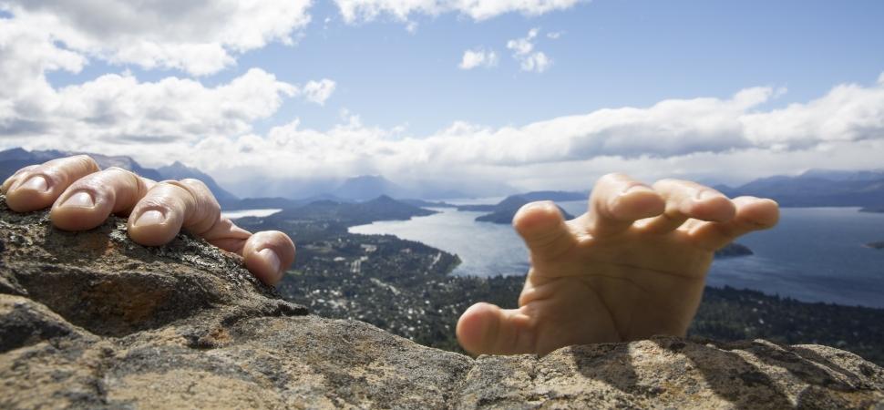 Success - wall climbing